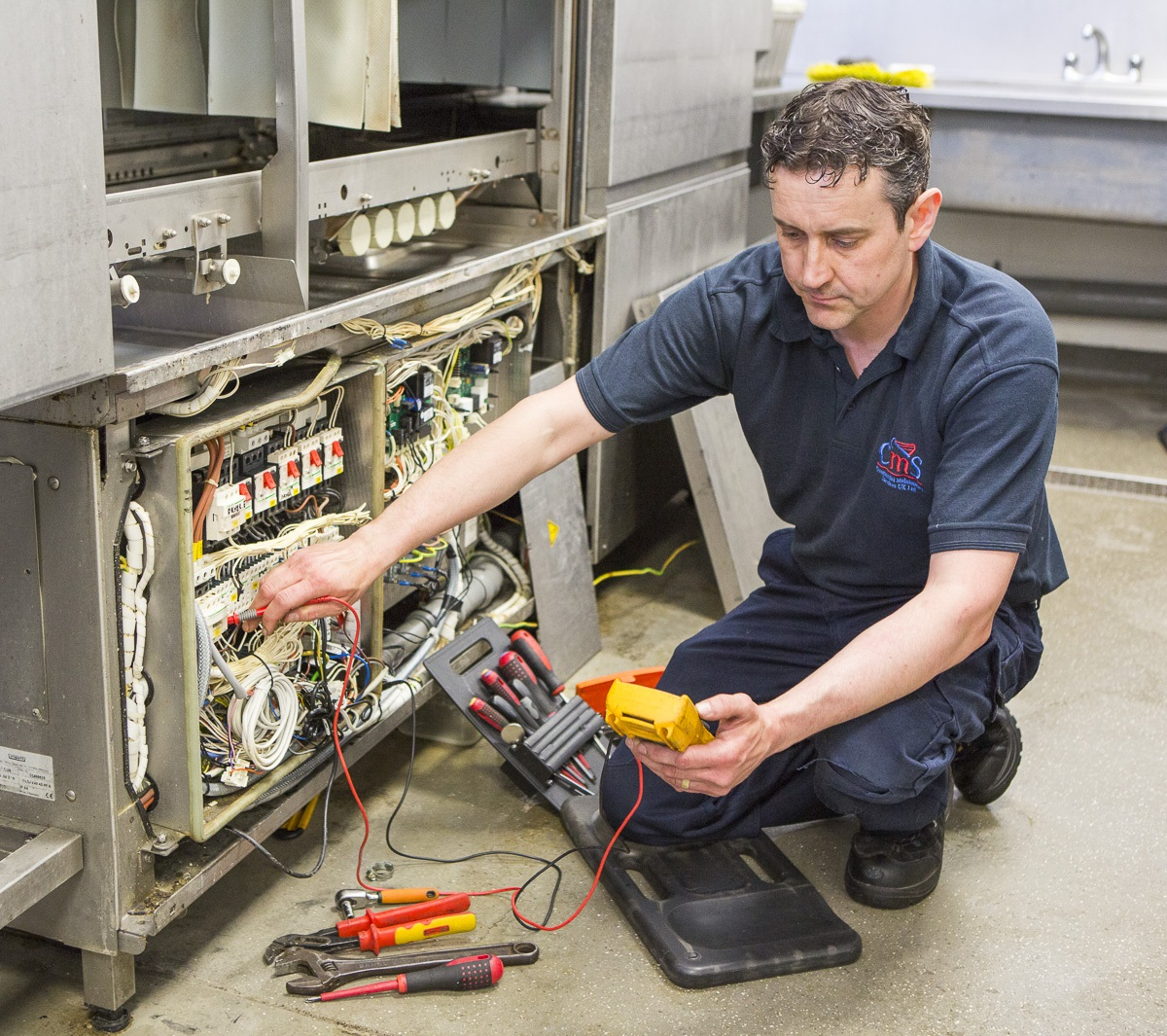 Commercial catering equipment maintenance
